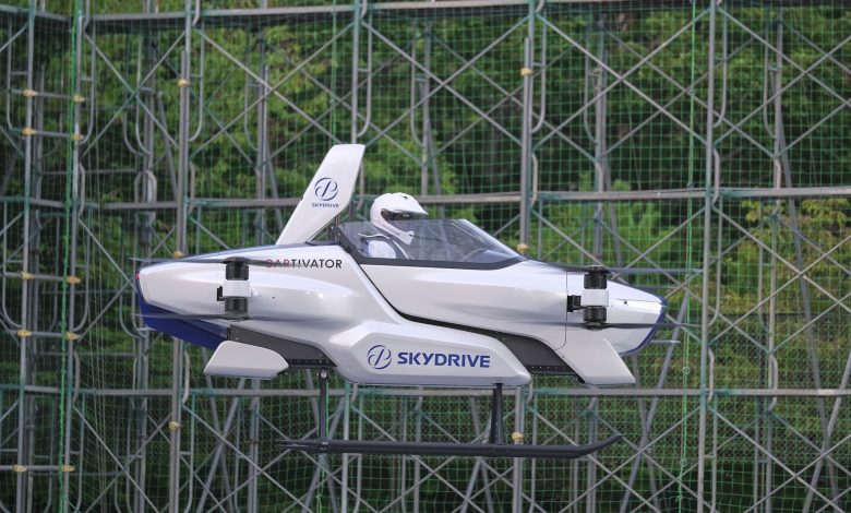 Japanese flying car company conducts successful test flight