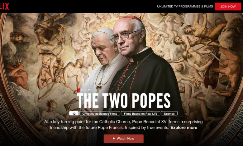 Netflix makes Two Popes, Bird Box, and more available to watch for free