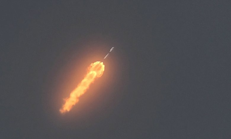 SpaceX's latest launch took rare southern route from Florida