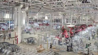 Photo of Tesla releases spectacular online video of production at Gigafactory Shanghai – a glimpse of 'Alien dreadnought'