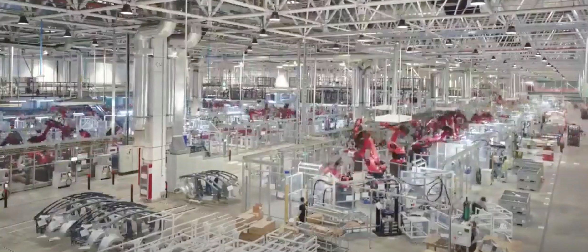 Tesla releases impressive video of production at Gigafactory Shanghai - a glimpse of 'Alien dreadnought'