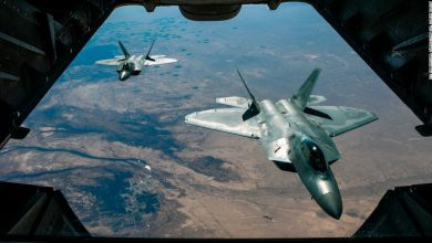 Photo of US jets intercept Russian armed forces aircraft off Alaskan coast