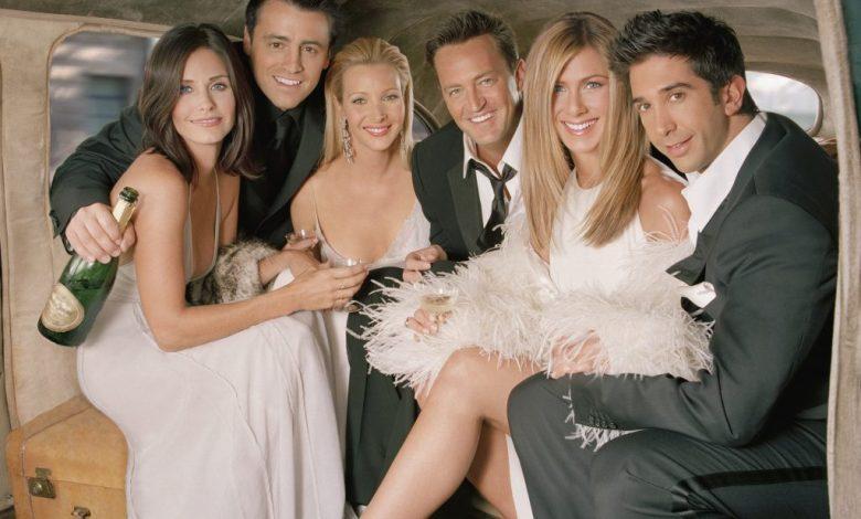 Courteney Cox, Matt LeBlanc, Lisa Kudrow, Matthew Perry, Jennifer Aniston, and David Schwimmer