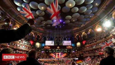 Photo of Rule, Britannia! Sung on Last Night of the Broms after the BBC U-Turn