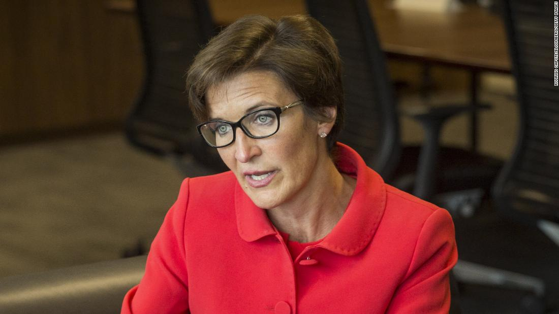 No. 1 woman to watch in U.S. banking