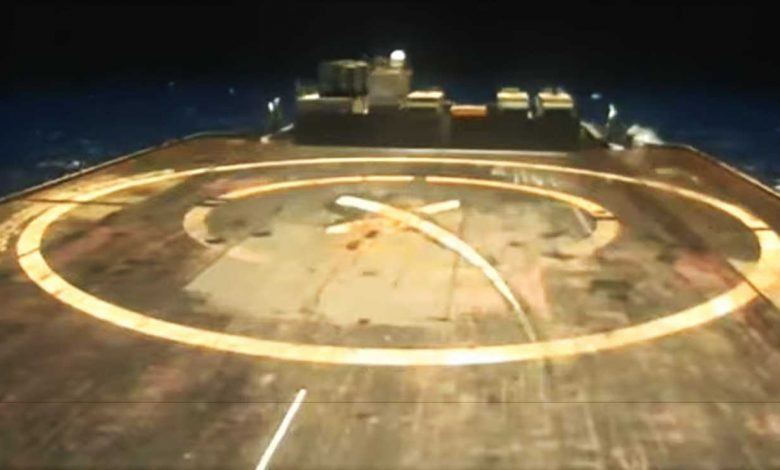 SpaceX drone goes to sea for Falcon 9's next Starling launch and landing