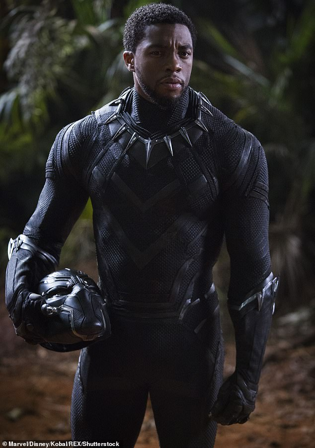 Best in Business: Chadwick was recently remembered for his role as King D'Salla in the 2018 Black Panther film, but he first appeared as a powerful character in the 2016 MCU film Captain America: Civil War.