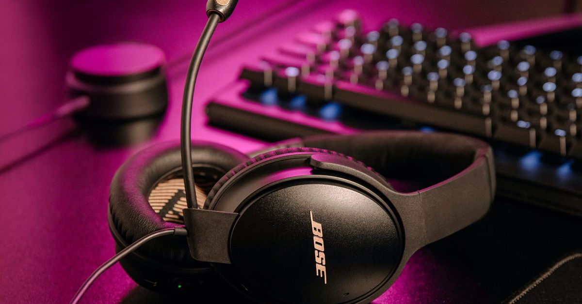 Bose converted its quiet comfort 35 II headphones into a gaming headset