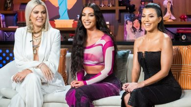 Photo of Kim Kardashian shares 'KUWTK' bikini photo with sisters Courtney and Klose: 'Trifecta 2006'