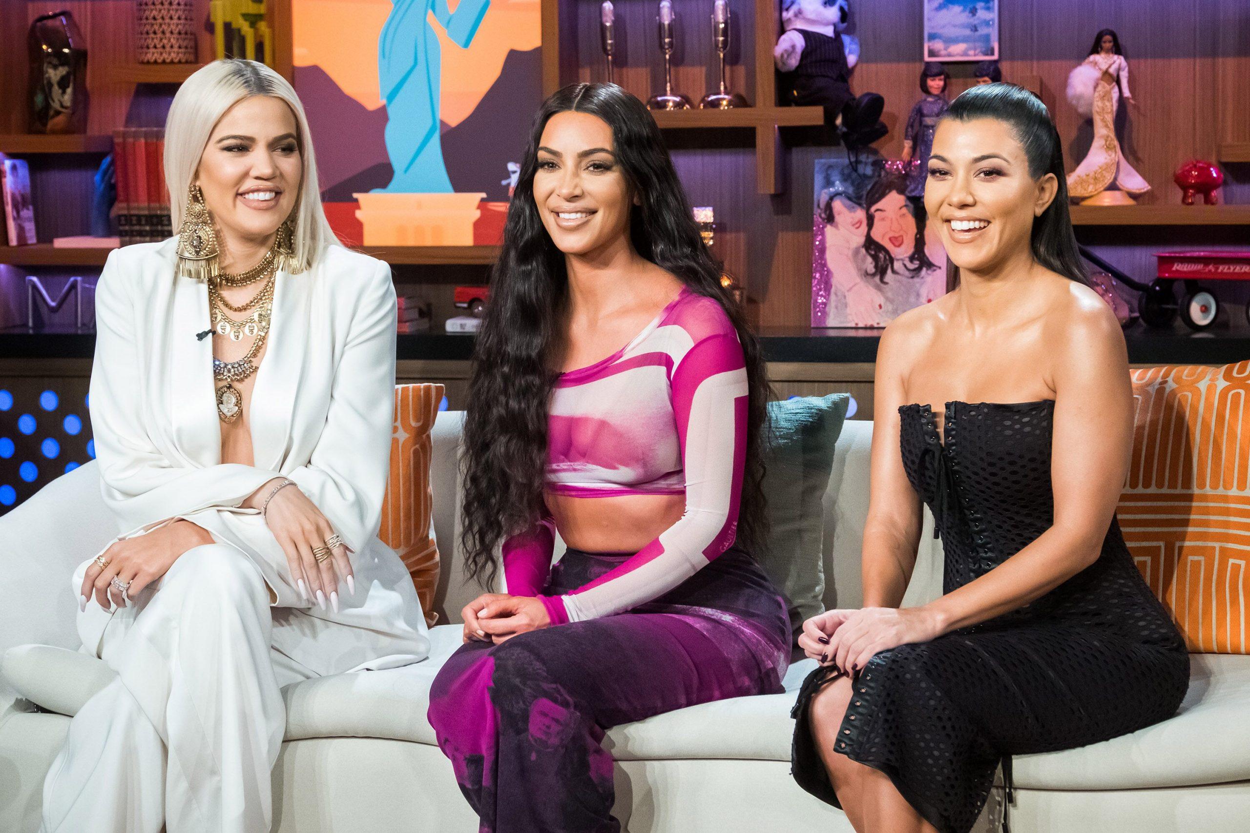 Kim Kardashian shares 'KUWTK' bikini photo with sisters Courtney and Klose: 'Trifecta 2006'