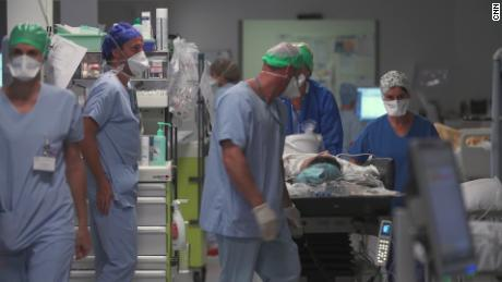 ICUs are approaching capacity in this French city.  This is September only