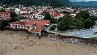 Photo of Greece collided with a rare 'medicine', killing 3 people and rescuing hundreds from the flood