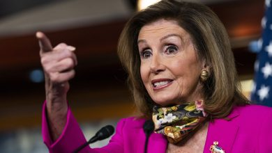 Photo of Pelosi confuses some people during an interview about the SCOTUS fight