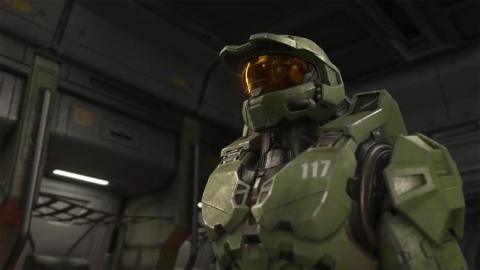 Screenshot of Hollow's Master Chief