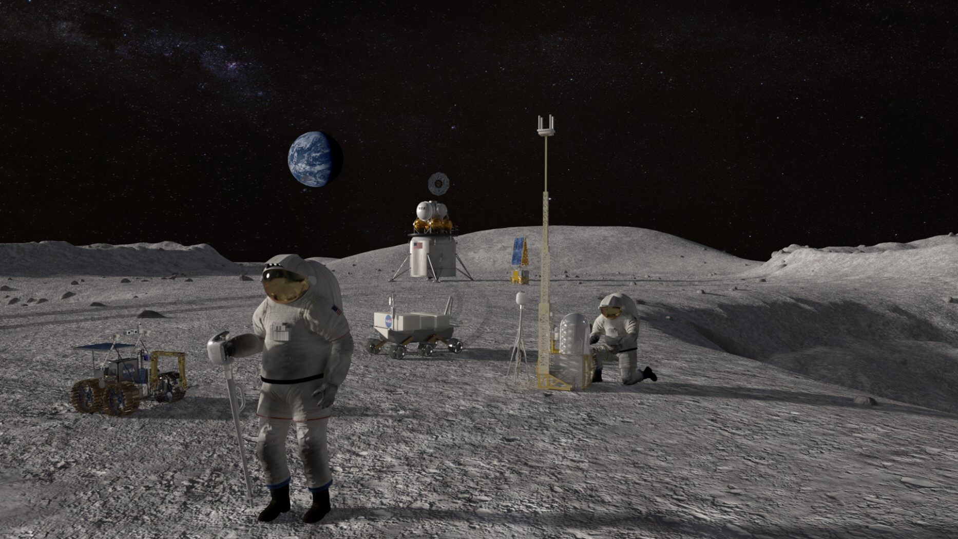 NASA describes how B 28b will be spent on orbiting astronauts to the moon in 2024