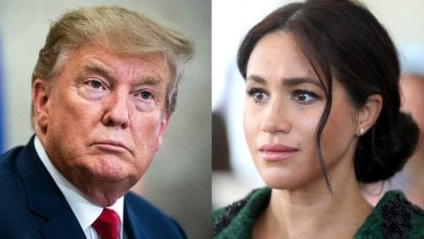 Photo of Trump says he is not a 'fan' of Megan Markle's 'lots of luck' congratulations to Prince Harry