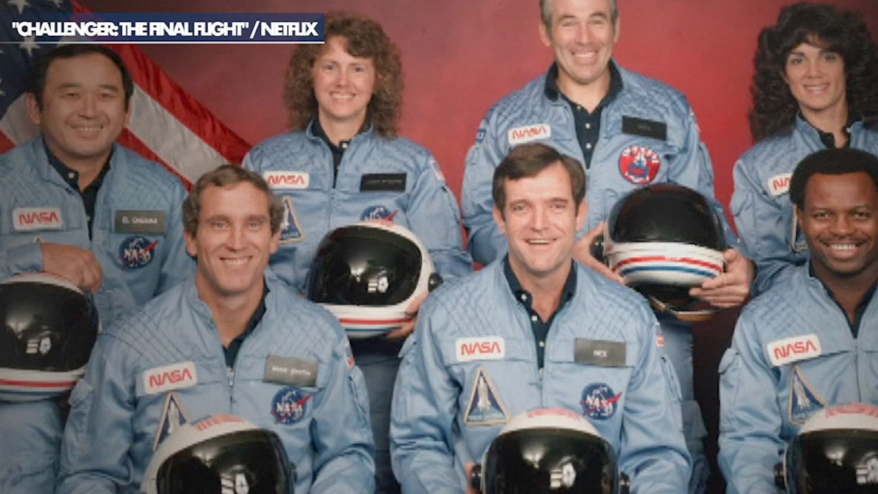 The astronauts who lost 'Challenger: Final Flight' shed light on their families