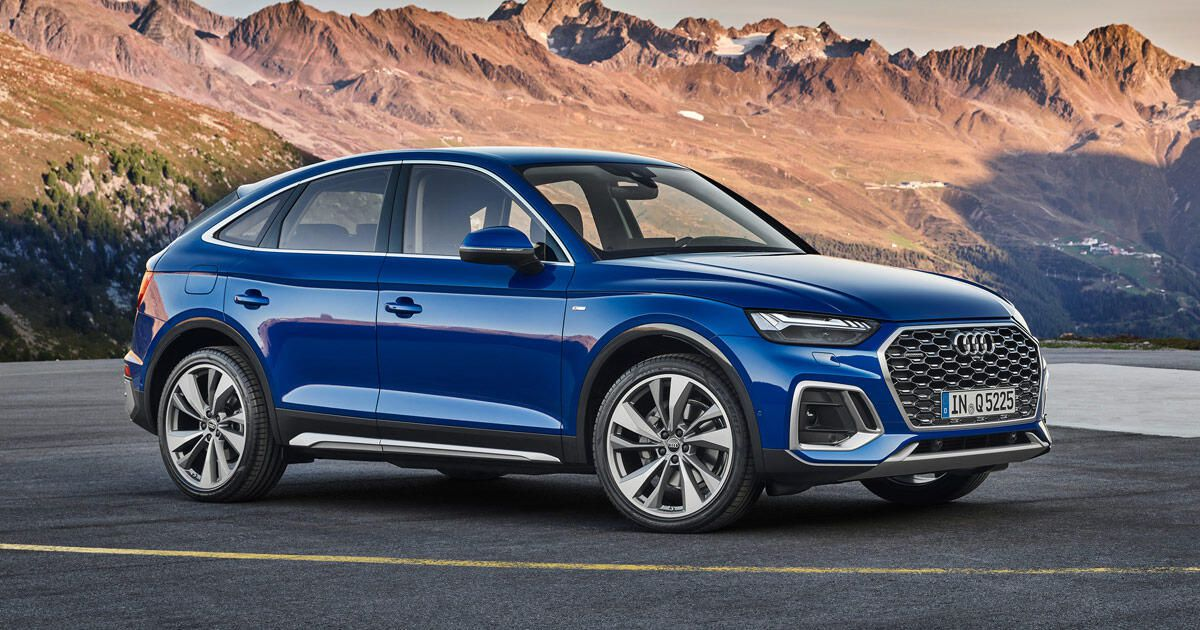 The 2021 Audi Q5 Sportback is another coupe-inspired crossover