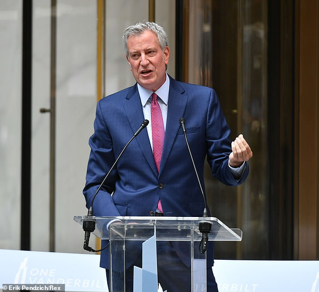 Mayor Bill de Blasio also noted the progress made in those areas, saying,