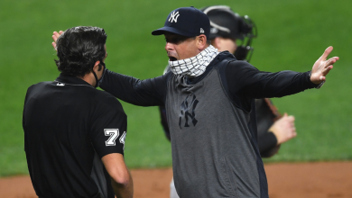 Photo of Yankees manager Aaron Boone fired for transparent filling on balls and strikes