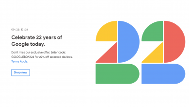 Photo of Google Store marks the company's birthday in some countries