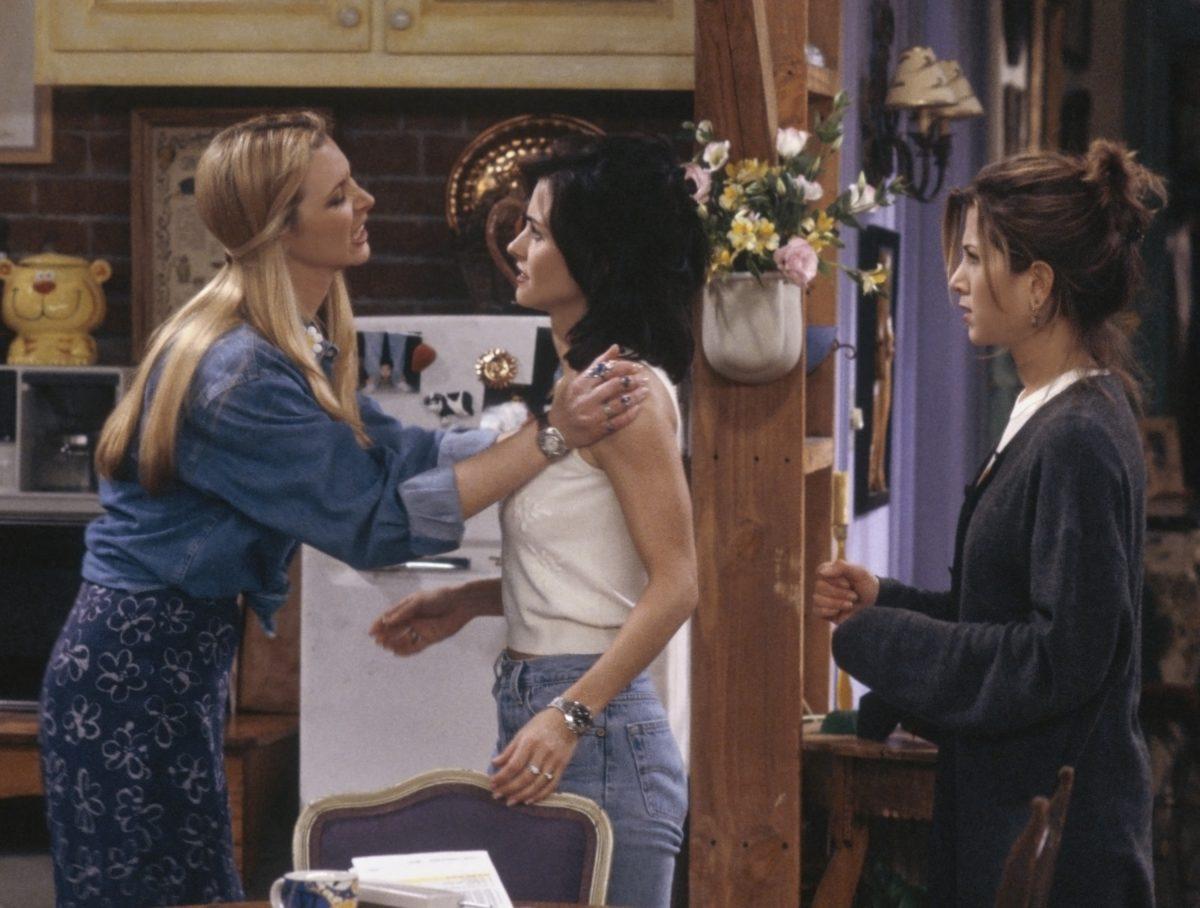 Lisa Kudrow, Courtney Cox and Jennifer Aniston