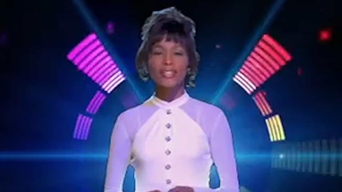 Surfaces without approval from Whitney Houston Hologram Garden