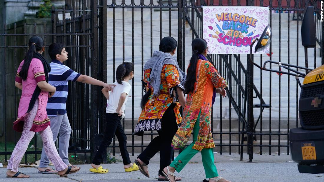 New York City kids have to go back to school