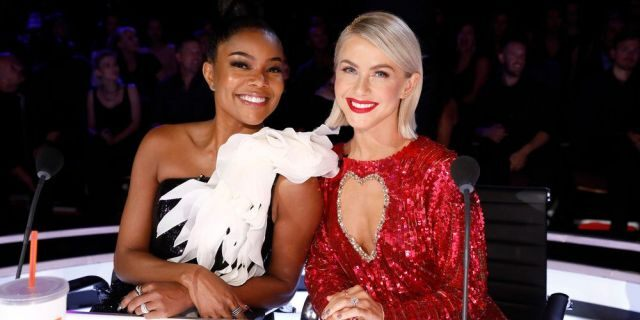 Gabriel Union and Juliana Hugh worked together as judges on 'America's Got Talent'.  They both left the show at the same time.  (Photographer: Trey Patton / NBC)
