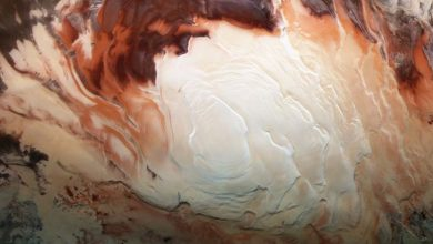 Photo of Ancient underground lakes found on Mars