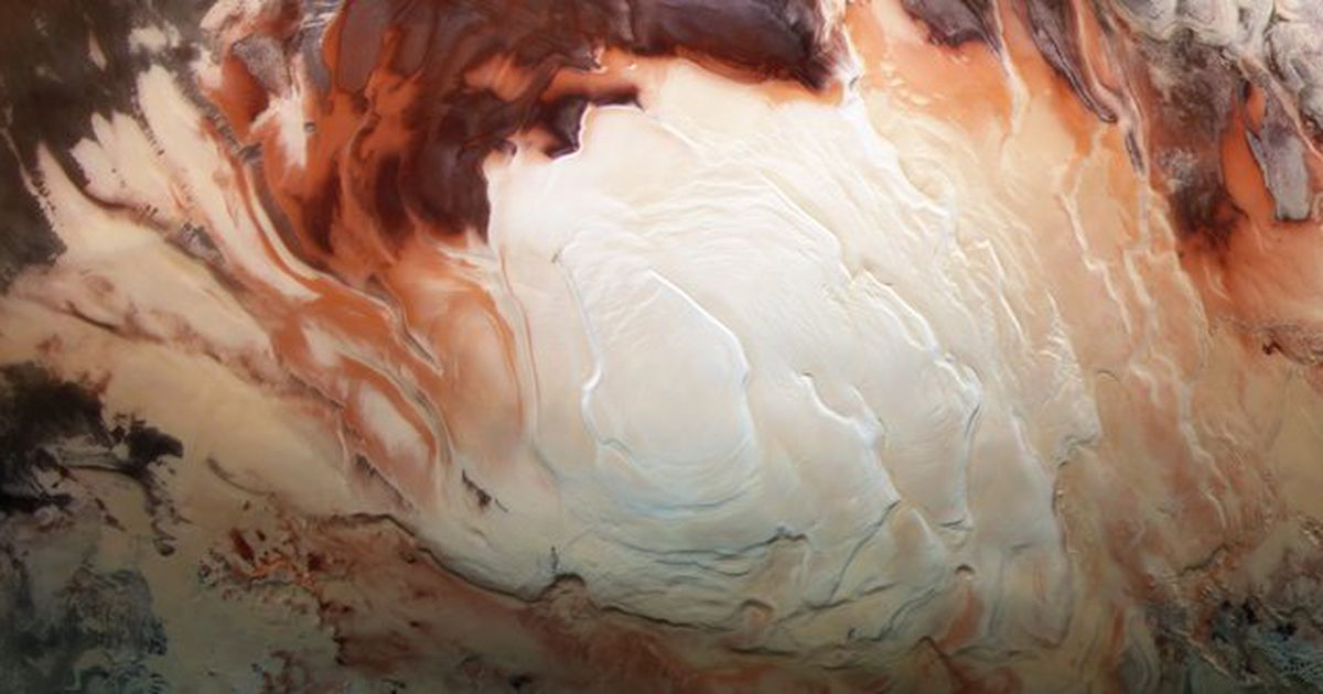 Ancient underground lakes found on Mars