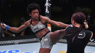 Photo of Angela Hill loses UFC Vegas 10