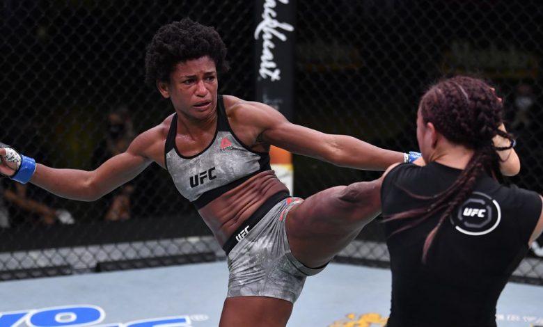 Angela Hill loses UFC Vegas 10