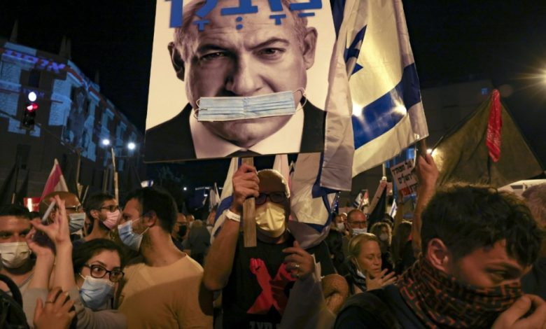Israelis continue protests over Netanyahu alleged corruption, Covid-19 response