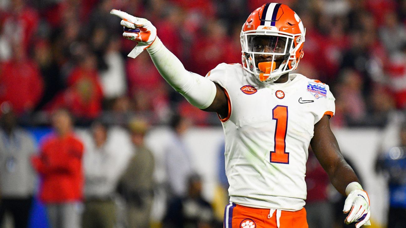 Clemson Tigers should be without three starters.  No reason was given