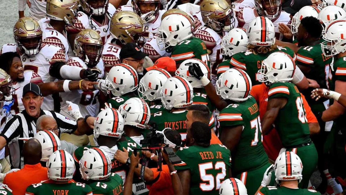 College Football Scores, NCAA Top 25 Rankings, Table, Sports: Florida State vs. Miami, Texas A&M Opens