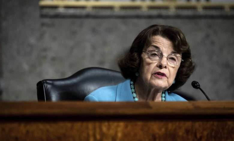 Democrats are worried that the Supreme Court war will not be handled by Feinstein