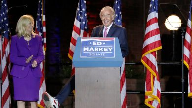 Photo of Ed Markey stops Joseph Kennedy at Mass Senate race
