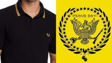 Photo of Fred Perry kills his yellow black polo shirt and condemns fascist distributors