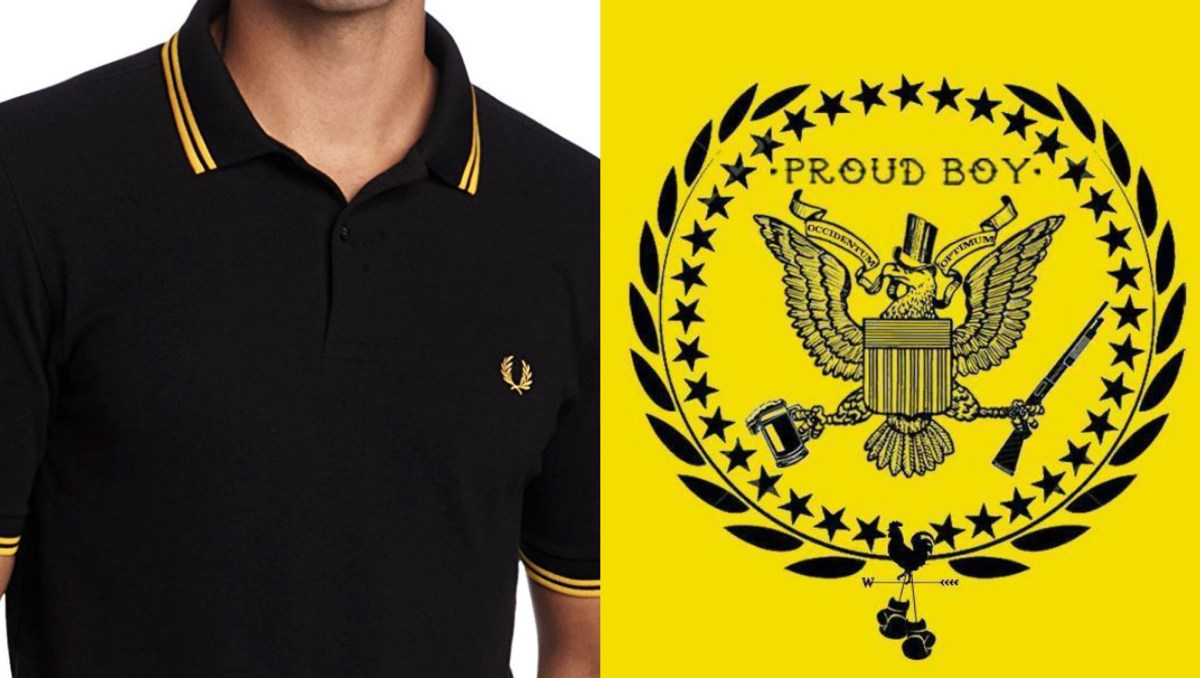 Fred Perry kills his yellow black polo shirt and condemns fascist distributors