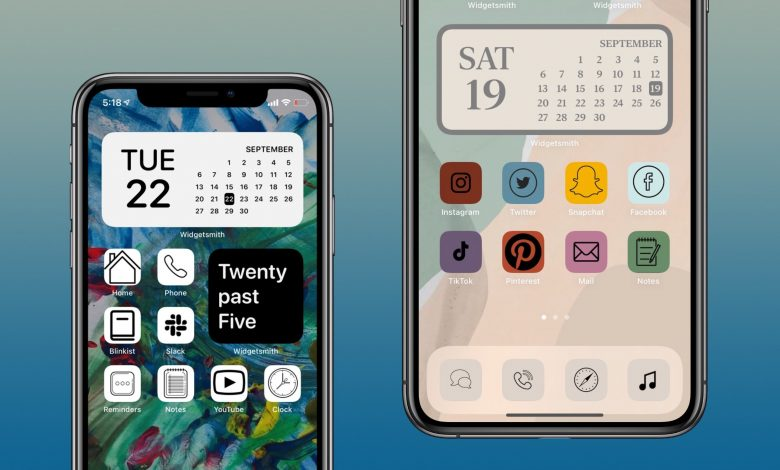 How to make iOS 14 aesthetics with custom app icons