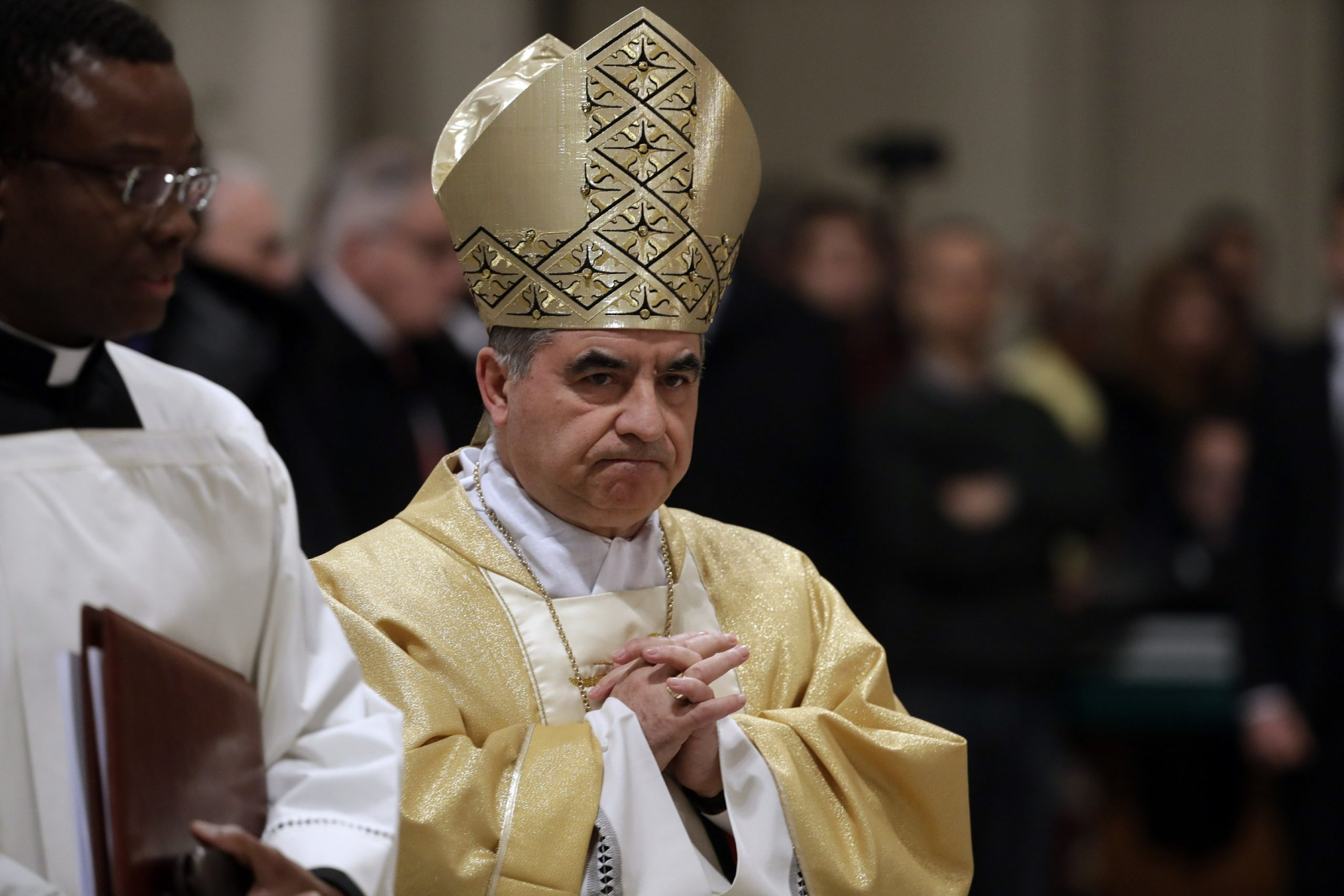In the midst of the scandal the powerful Vatican cardinal Besiu resigned
