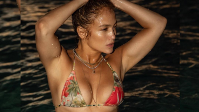 Photo of Jennifer Lopez, 51, set fire to social media with a steam bikini shot