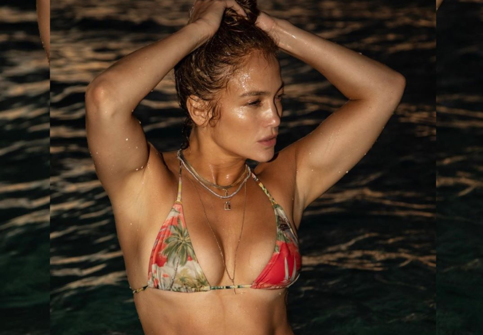 Jennifer Lopez, 51, posted a steamy bikini photo of herself on social media Saturday evening. (Photo: Toni Anne Barson/WireImage)