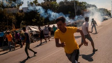Photo of Lesbos: Greek police fired tear gas against immigrants