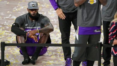 Photo of Los Angeles Lakers LeBron James created the 10th NBA Finals
