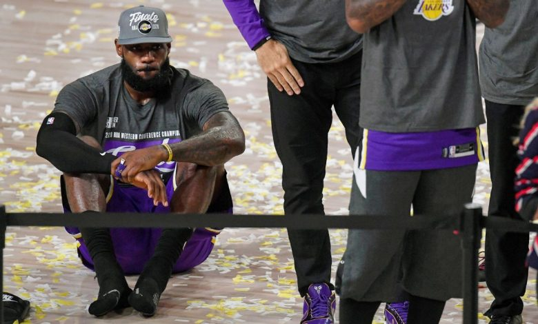 Los Angeles Lakers LeBron James created the 10th NBA Finals