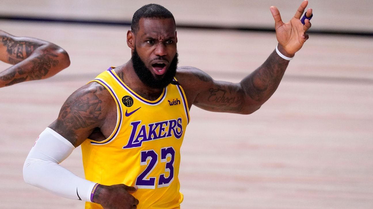 Los Angeles Lakers LeBron James says MVP vote overall 'provoked me'