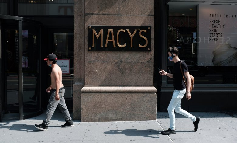Macis (M) Q2 2020 net loss, same store sales fell 35%