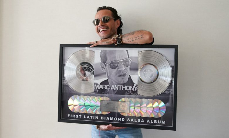 Mark Anthony's '3.0' is the first salsa album to receive 'Diamond' certification